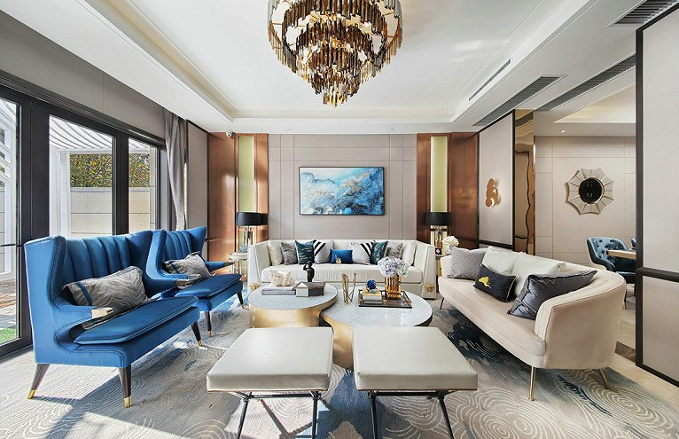 欧式别墅装修设计科普,别墅欧式装修设计应该注意什么?