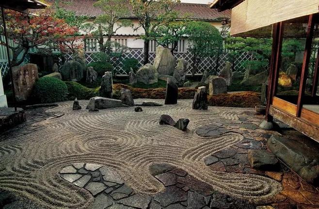 2019贵阳别墅花园设计流行风格,别墅日式花园装修设计特点