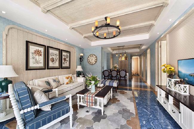 贵阳别墅装修设计,贵阳地中海风格别墅装修的设计要点