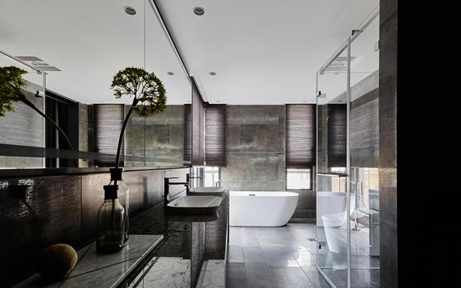 贵阳别墅装修设计,别墅卫生间装修常见的四大照明误区
