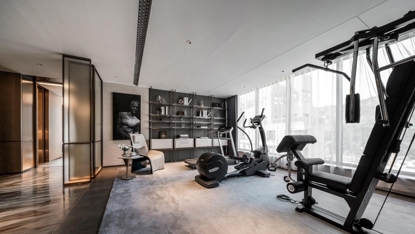 贵阳别墅健身房设计