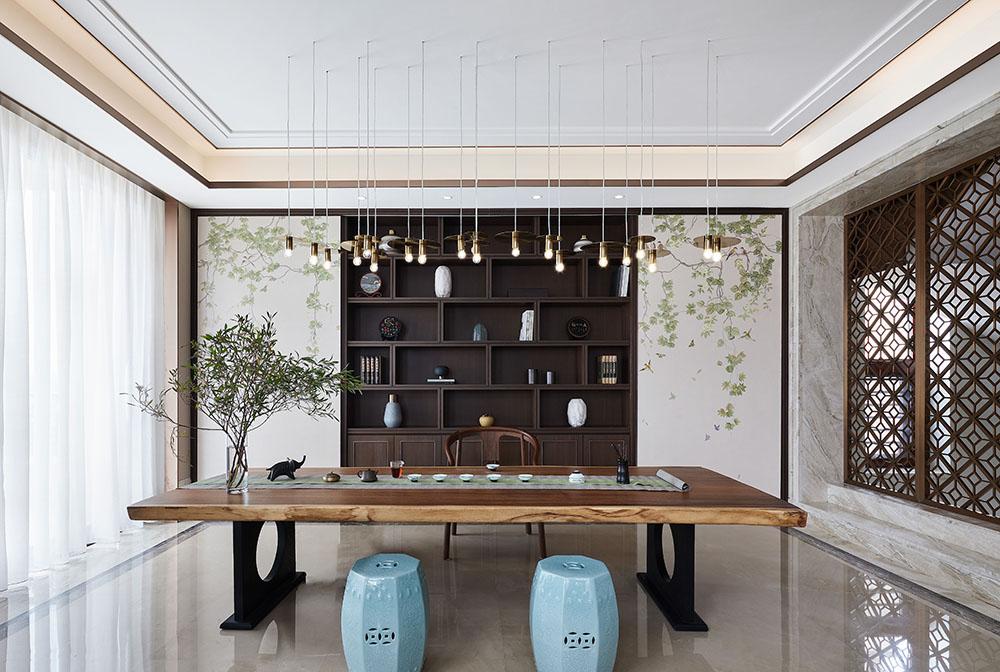 别墅茶室装饰