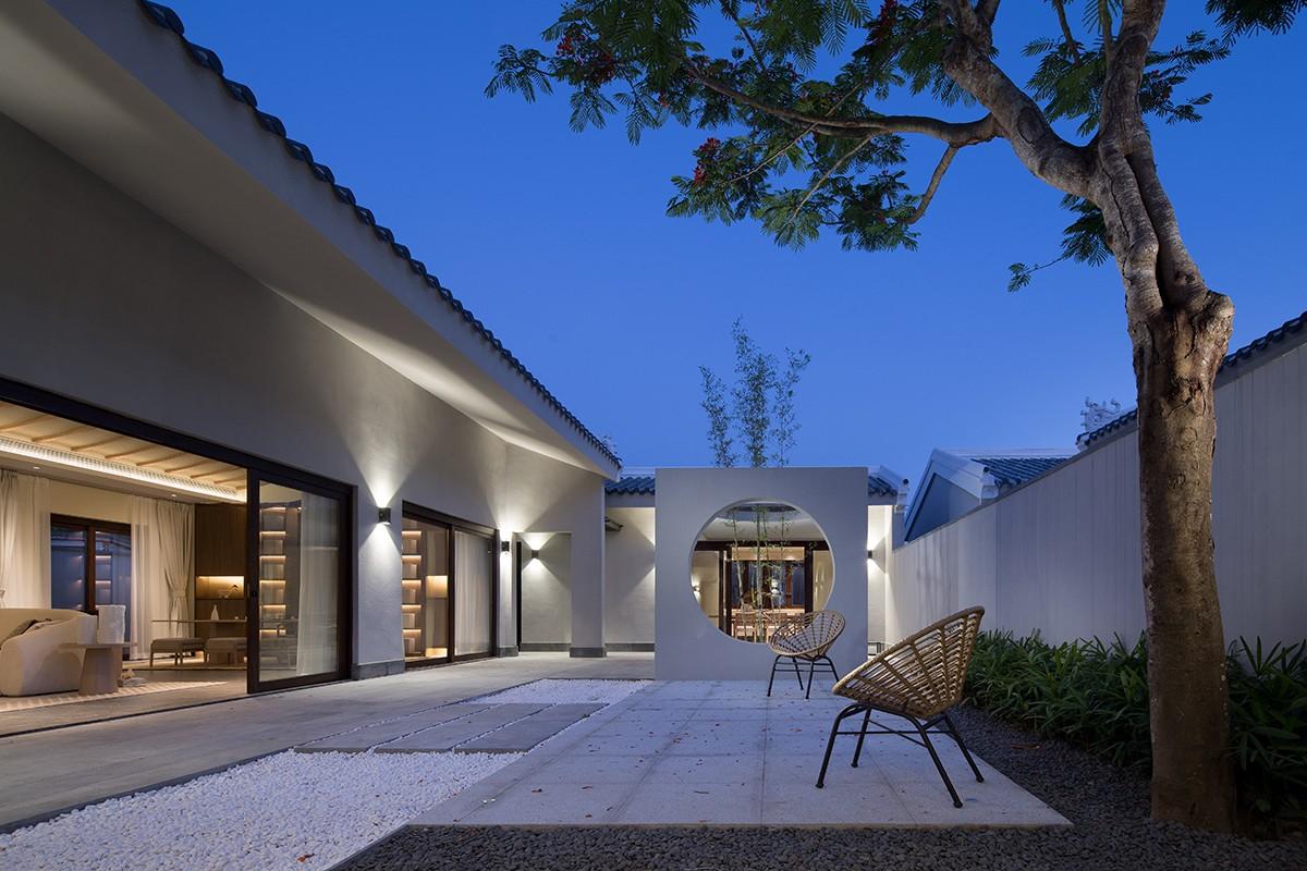贵阳别墅庭院装修设计