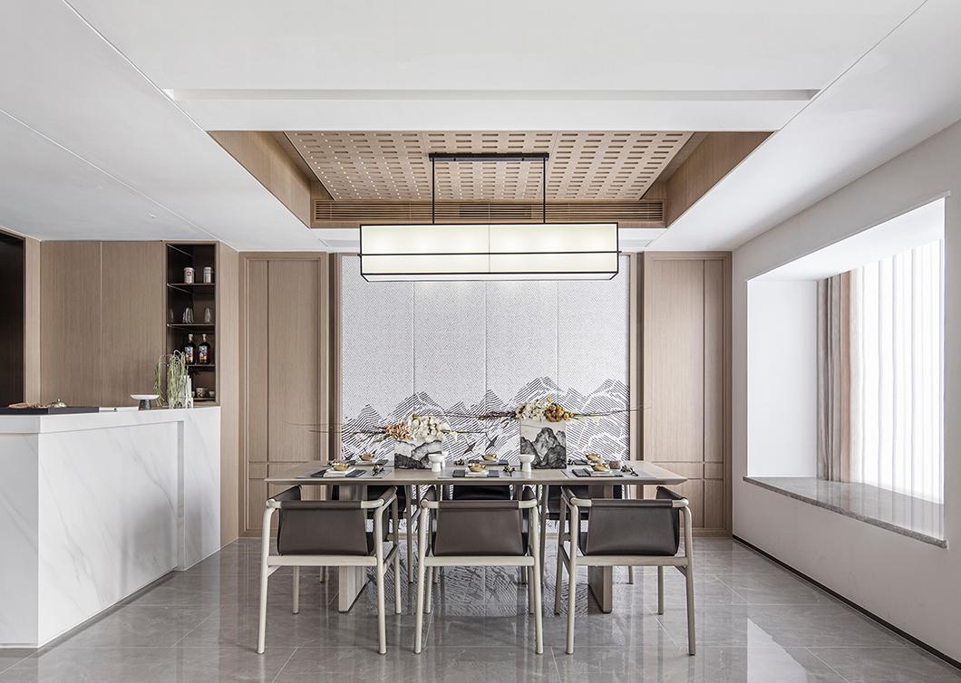 贵阳别墅餐厅设计