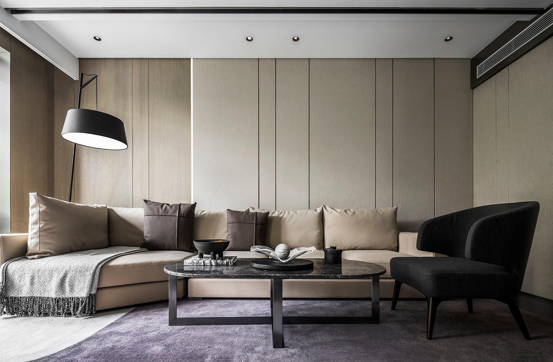 贵阳别墅沙发背景墙设计