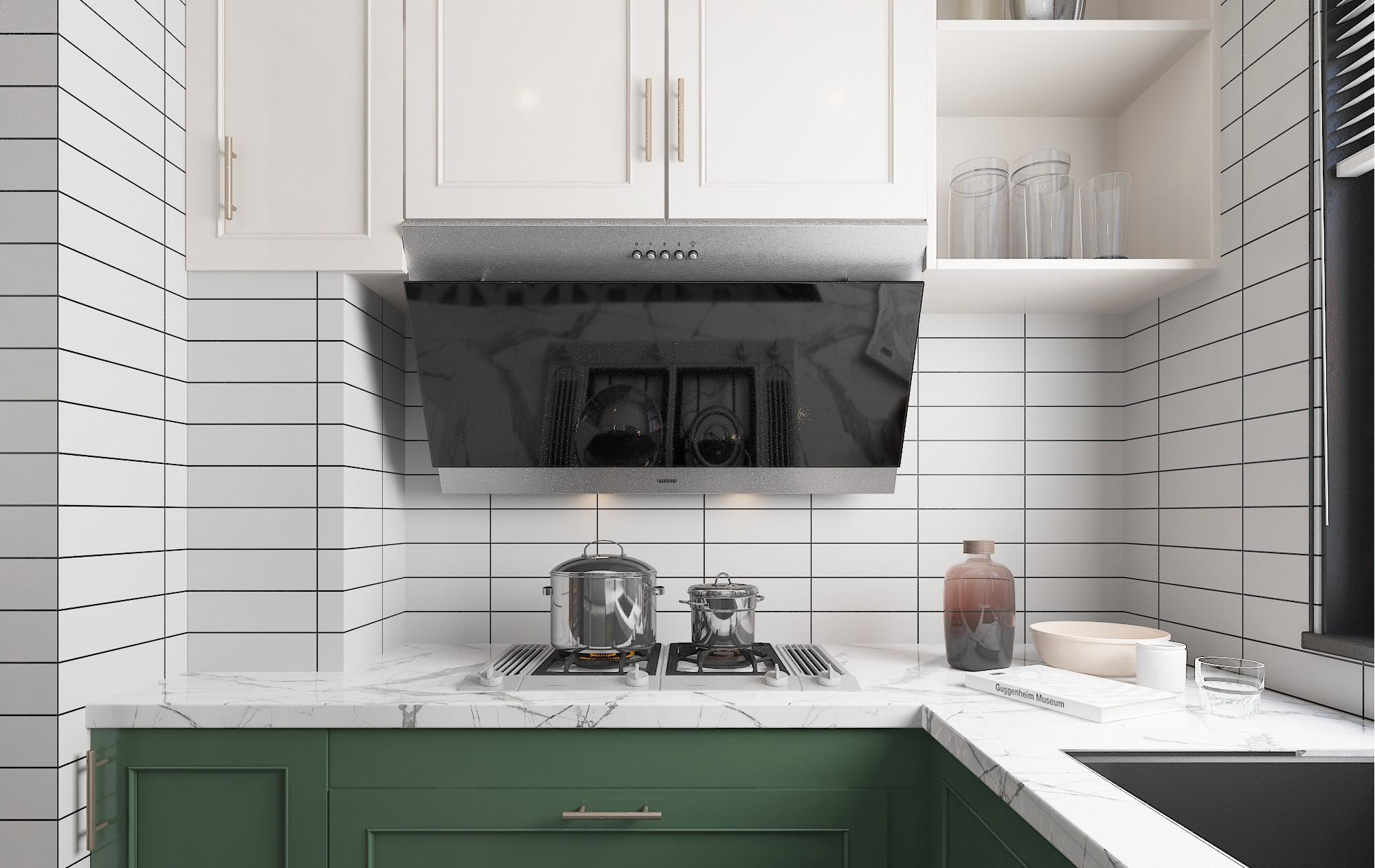 贵阳北欧别墅厨房设计