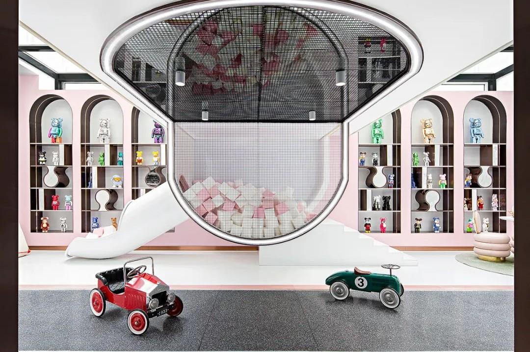 贵阳别墅儿童玩具房设计