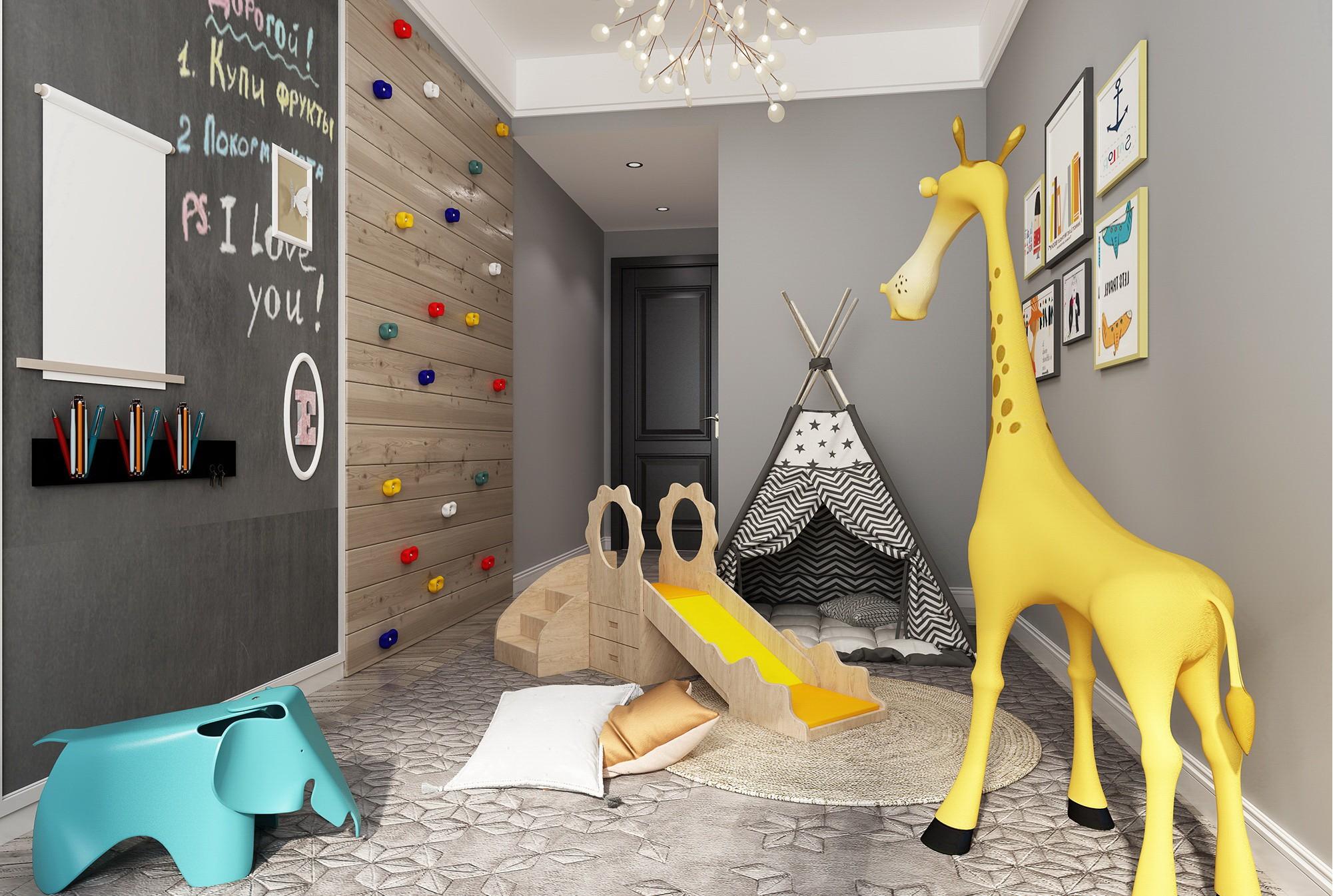 贵阳儿童玩具房装饰