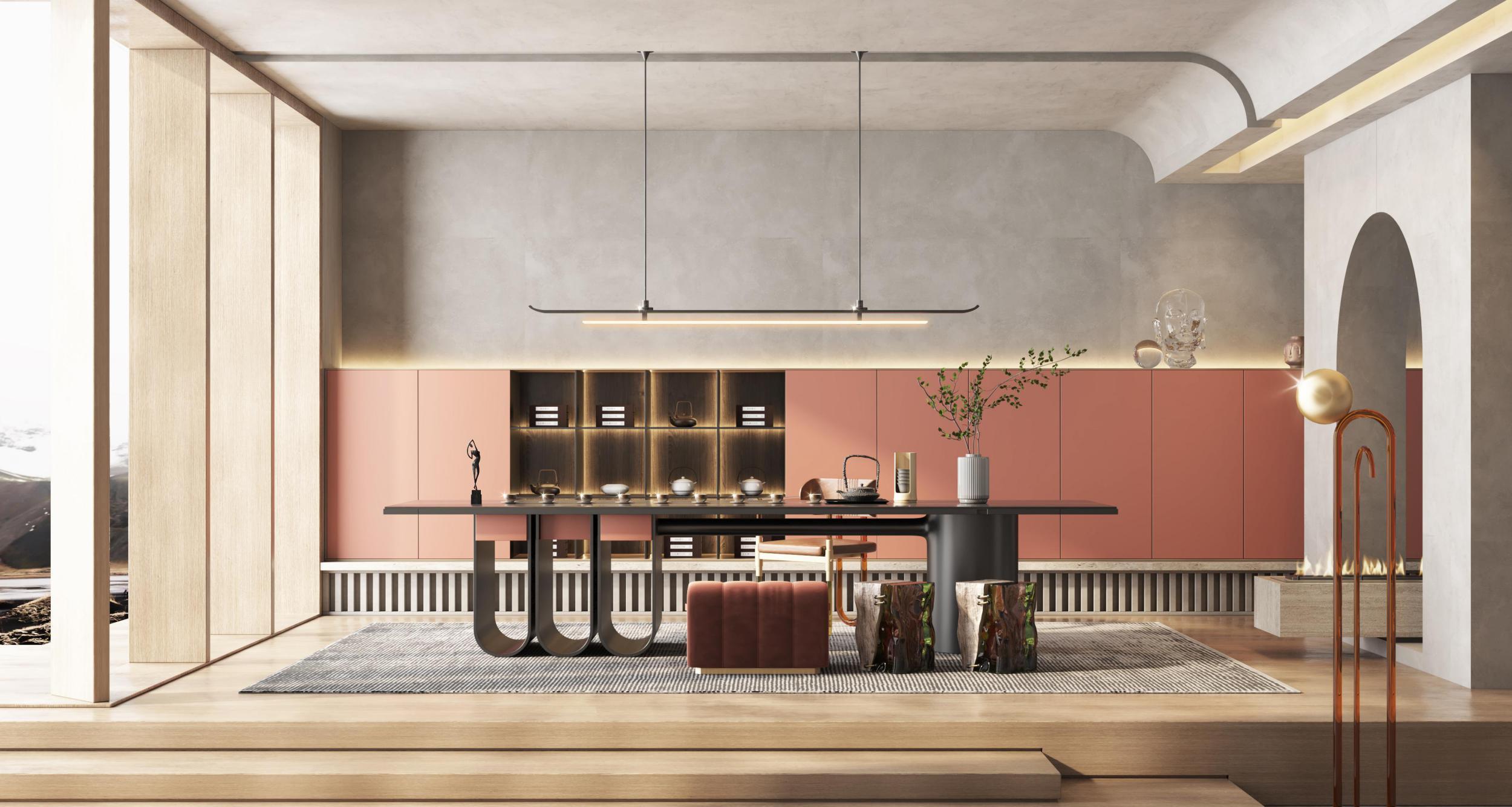 贵阳别墅茶室设计