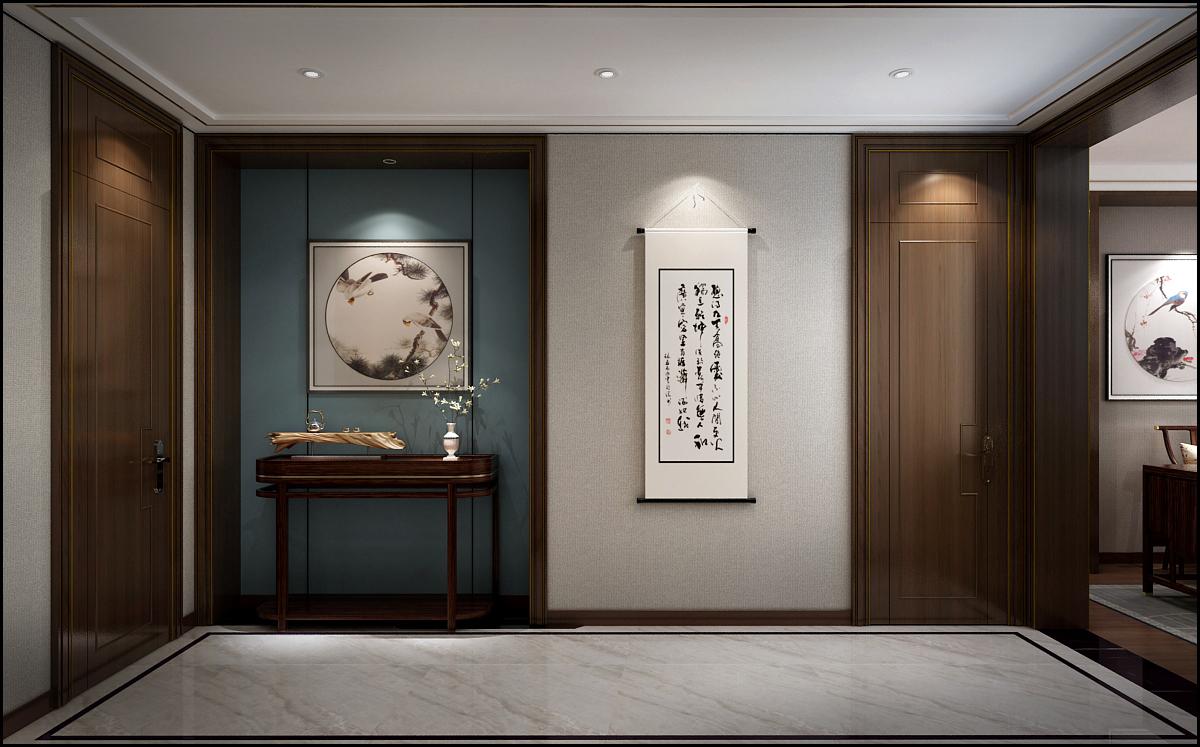 贵阳别墅玄关装修设计