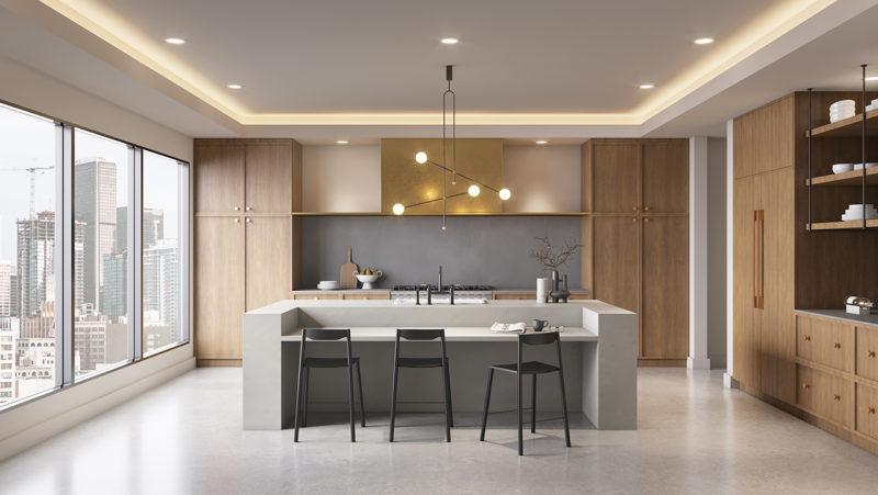 贵阳别墅厨房装饰设计